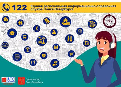 Единая региональная информационно-справочная служба Санкт-Петербурга 112