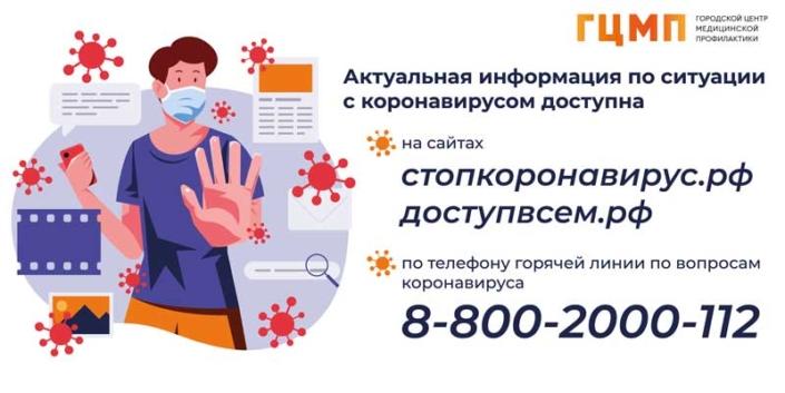 Актуальная информация по коронавирусу